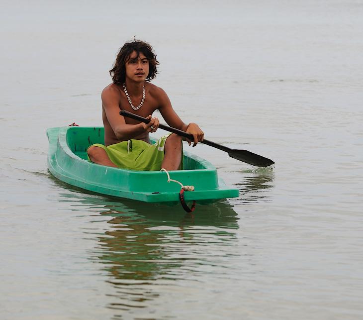 мотор тайской лодкой